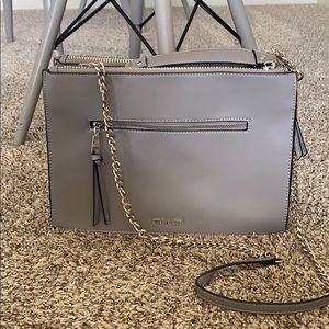 Steve Madden gray crossbody purse
